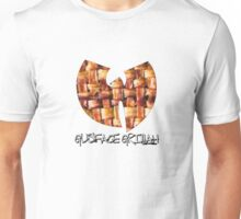 Da Mystery of Chest Bacon (black print) Unisex T-Shirt