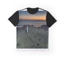 Dusk falls on the Mediterranean Graphic T-Shirt