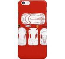 Super Car BluePrints - Aventador, Zonda F, P1, Agera R iPhone Case/Skin