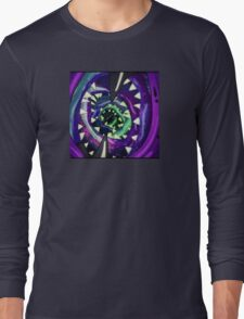 Trippy rick and morty Long Sleeve T-Shirt