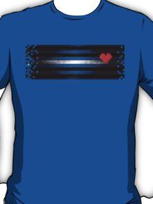 8bit Leather Pixel T-Shirt