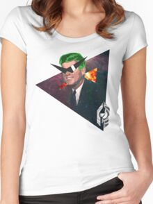 Star Kennedy. Women's Fitted Scoop T-Shirt