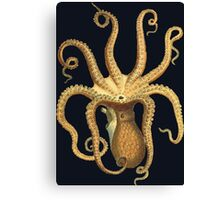 Octopus Monster Canvas Print