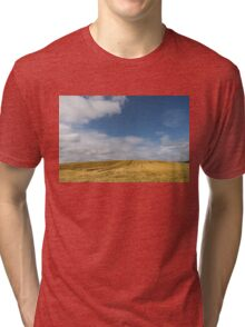 Rows of Straw -  Tri-blend T-Shirt