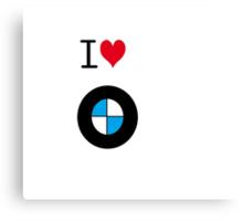I love BMW Canvas Print