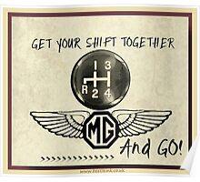 MG Shift & Go Poster