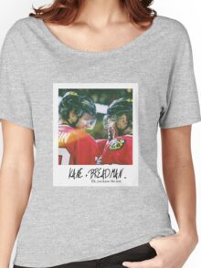 KANE + BREADMAN ... Artemi Panarin and Patrick Kane Women's Relaxed Fit T-Shirt