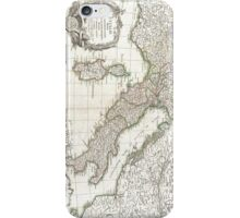 Vintage Map of Italy (1770)  iPhone Case/Skin