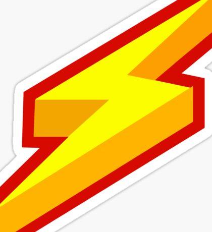 Lightning Bolt Logo Sticker