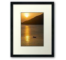 Japan Sunrise Framed Print