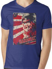 Harambe Revolution Mens V-Neck T-Shirt
