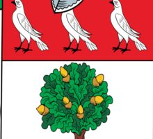 O'Hegarty Coat of Arms (Donegal) Sticker