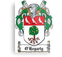 O'Hegarty Coat of Arms (Donegal) Metal Print