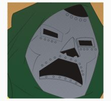 Dr. Doom Halftone One Piece - Long Sleeve