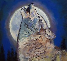 Howling Wolf by Michael Creese