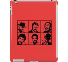 Mustachio Men iPad Case/Skin