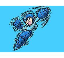 Mega Man Photographic Print