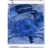 Maryland Blue Crab on a Paper Bag iPad Case/Skin