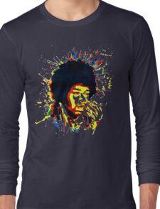 jimi colorful Long Sleeve T-Shirt