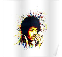 jimi colorful Poster