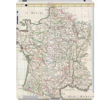 Vintage Map of France (1771)  iPad Case/Skin