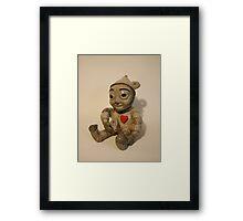 Tin man- Wizard of OZ Framed Print