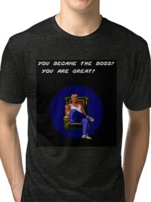 Axel Became the Boss Tri-blend T-Shirt