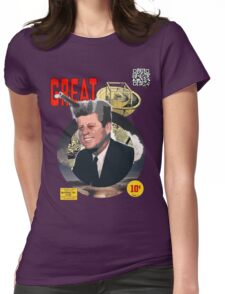 Blast Kennedy. Womens Fitted T-Shirt