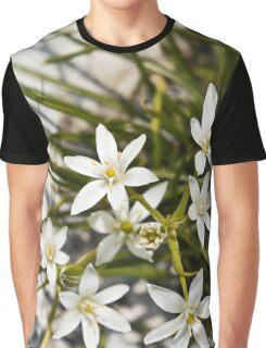white flowers bloom  Graphic T-Shirt
