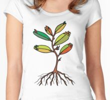 Tree of life... Women's Fitted Scoop T-Shirt