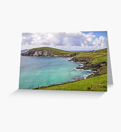 View to Dunmore Head - County Kerry - Ireland Greeting Card