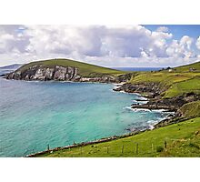 View to Dunmore Head - County Kerry - Ireland Photographic Print