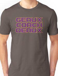 Geaux Coach Oeaux - LSU Tigers Fan Shirt Unisex T-Shirt