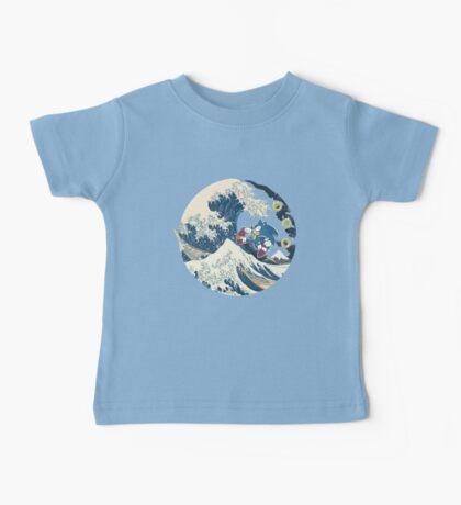 Sonic the Hedgehog - Hokusai Baby Tee
