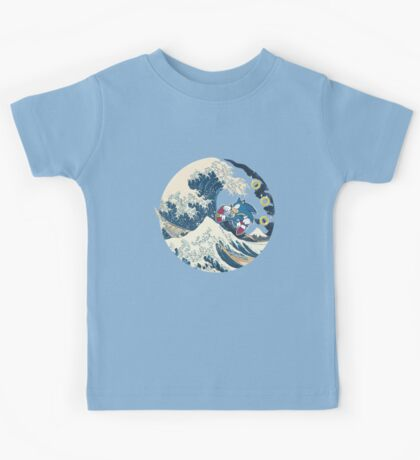Sonic the Hedgehog - Hokusai Kids Tee