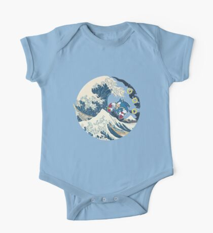 Sonic the Hedgehog - Hokusai One Piece - Short Sleeve