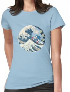 Sonic the Hedgehog - Hokusai Womens Fitted T-Shirt
