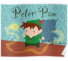 Cute Peter Pan Poster