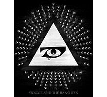 Siouxie and the Banshees, Studded all seeing eye Photographic Print