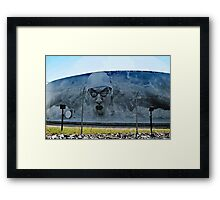Michael Phelps on Under Armour Title Tank,  Baltimore Framed Print