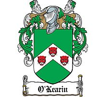 O'Kearin Coat of Arms (Clare) Photographic Print