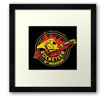 The Rocketeer anniversary Framed Print