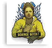 Breaking Bad - Science Bitch ! Canvas Print