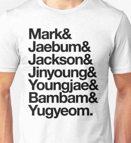 GOT7 - 갓세븐 Unisex T-Shirt