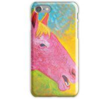 Pink Horse iPhone Case/Skin