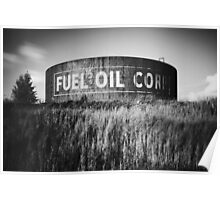 Fuel Oil Corp Poster