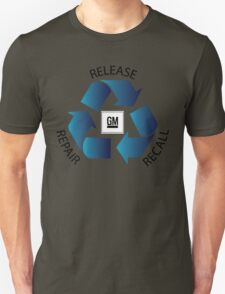GM Recall and Repair Logo Parody T-Shirt