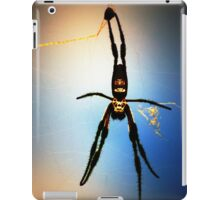 Golden Orb Spider iPad Case/Skin