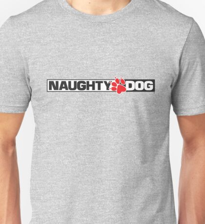 Naughty Dog Logo Unisex T-Shirt