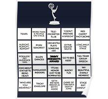 Emmy Awards Show Bingo Poster